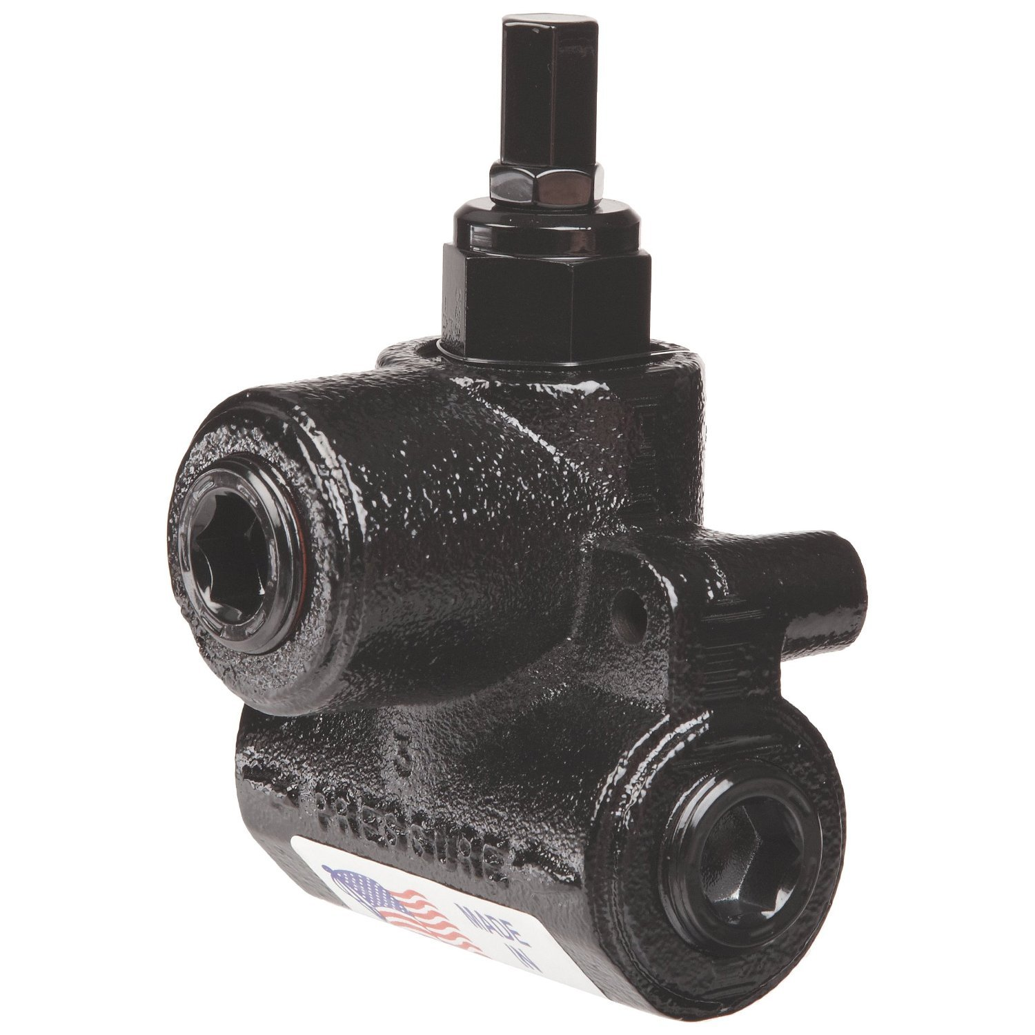 Prince RV Series Differential Poppet Line Relief Valve: Prince No. RV-1H, 1500-3000 PSI Adj. Range, SAE 12 Port Size, 2000 PSI Relief, 222784