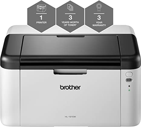 Brother HL-1210W All in Box - Impresora láser Monocromo (32 MB ...