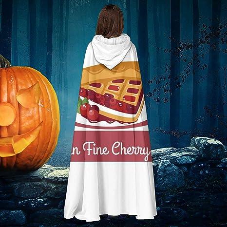 AISFGBJ Twin Peaks Cherry Pie - Capa de Disfraz Unisex de Bruja de ...