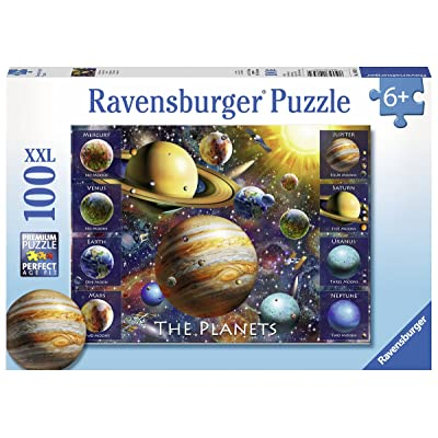 Ravensburger 10853 The Planets Jigsaw Puzzles: Toys & Games