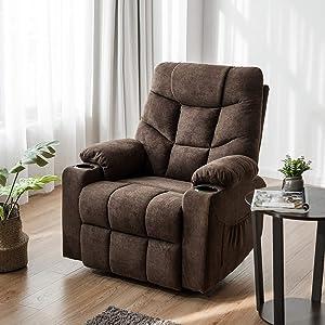 Giantex Power Lift Chair with Massage & Lumbar Heat