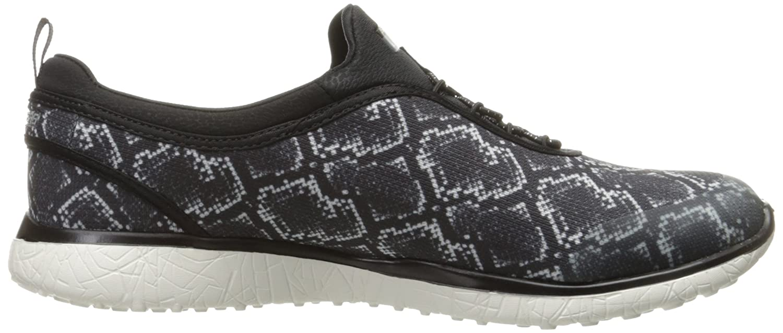 Skechers Sport Microburst Damens's Microburst Sport Mamba Fashion Sneaker schwarz/Weiß 04c577