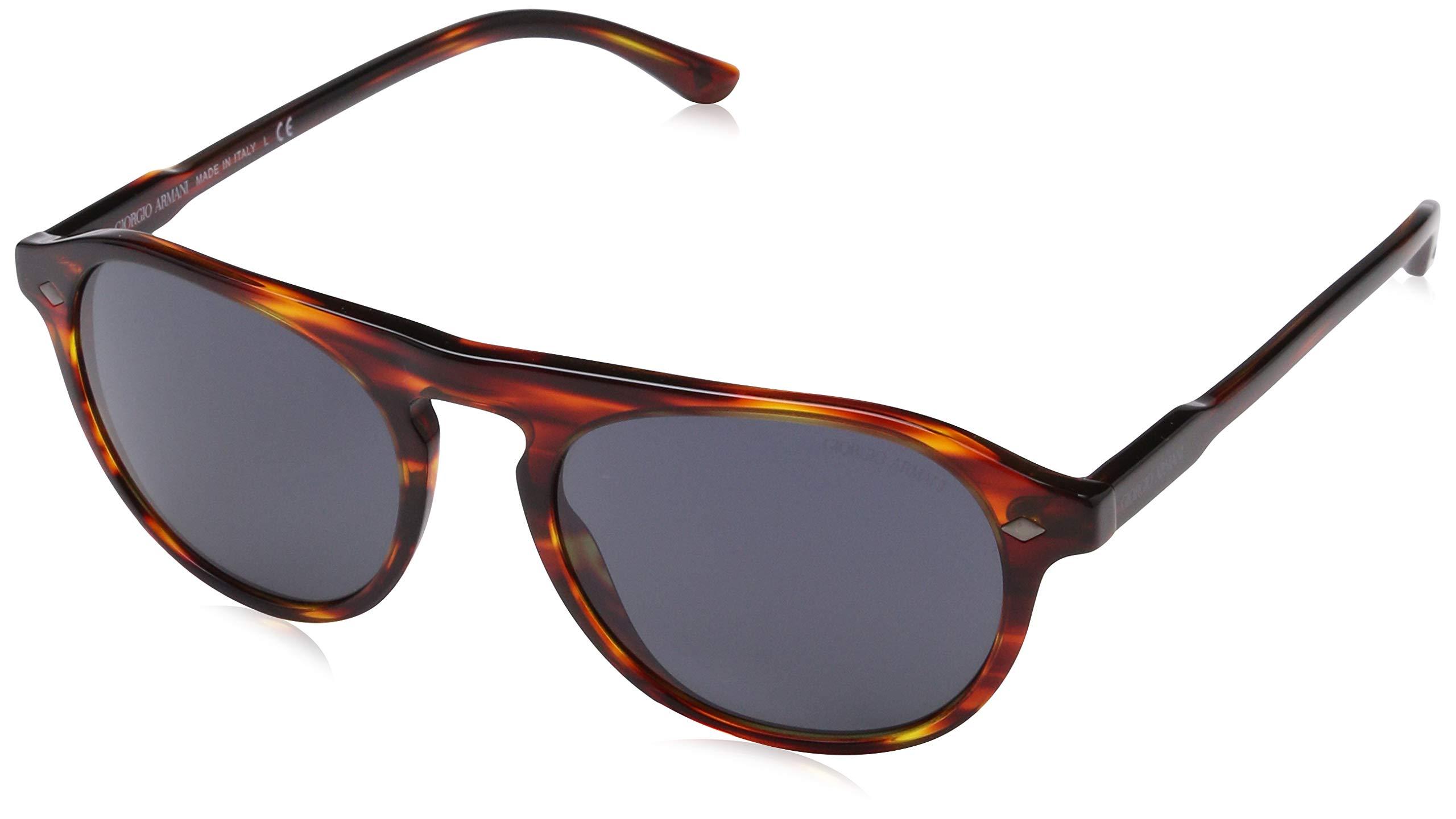 457370bbc21 Giorgio Armani Mens Sunglasses Red Blue Acetate - Non-Polarized - 53mm