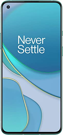OnePlus 8T 5G (Aquamarine Green, 12GB RAM, 256GB Storage)