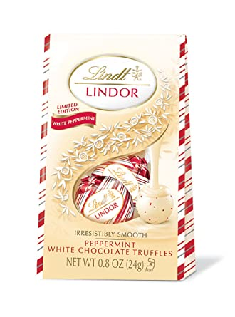 are lindt peppermint white chocolate truffles gluten free