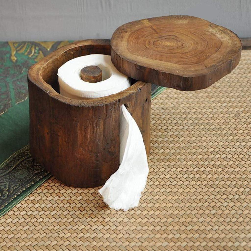 XZJJZ Portapapel higi/énico-Portapapel de bamb/ú Natural Dispensador de pa/ñuelo-Portapapel de autom/óvil Caja Rectangular de pa/ñuelos for el hogar el Coche la Oficina