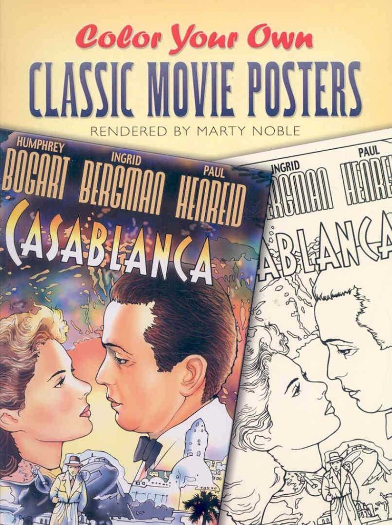 Read Online [(Color Your Own Classic Movie Posters )] [Author: Marty Noble] [Jul-2006] ebook