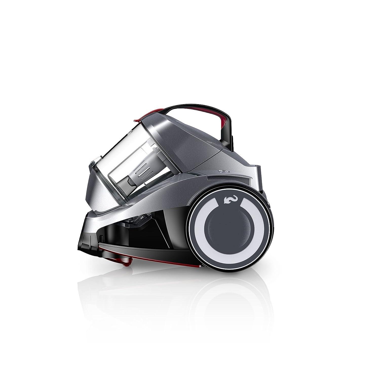 Dirt Devil Rebel 24 HF 700 W - Aspiradora (700 W, Aspiradora cilíndrica, Secar, Sin bolsa, 1,8 L, HEPA)