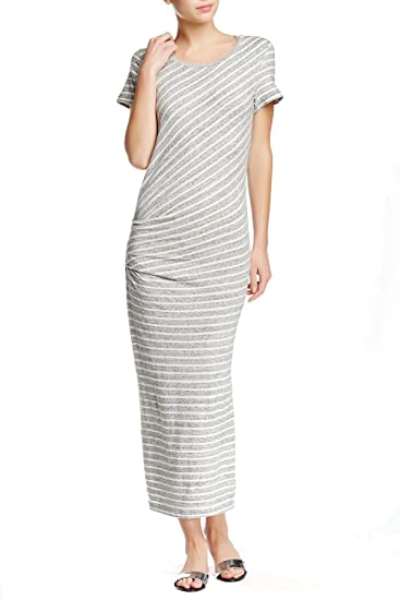 7b881d9a4a01 Image Unavailable. Image not available for. Color  James Perse Short Sleeve  Maxi Dress ...