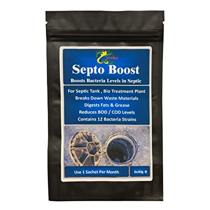 HYDRA SEPTO BOOST 6 x 30 G tratamiento de bacterias y ...
