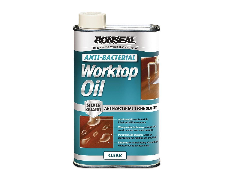 Ronseal ABWO1L 1L Anti-Bacterial Worktop Oil: Amazon.co.uk: DIY & Tools