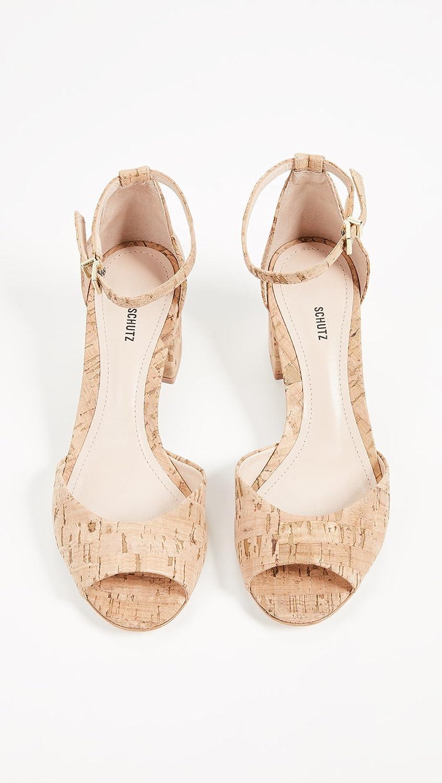 9aef8bab101 Amazon.com  SCHUTZ Women s Roama Ankle Strap Sandals  Shoes