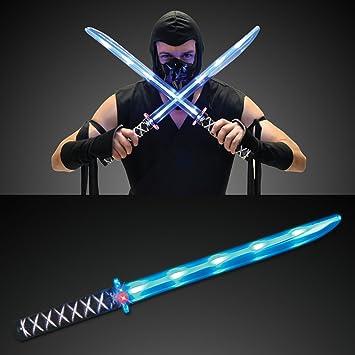 FlashingBlinkyLights - Espada Ninja que se ilumina con luces ...