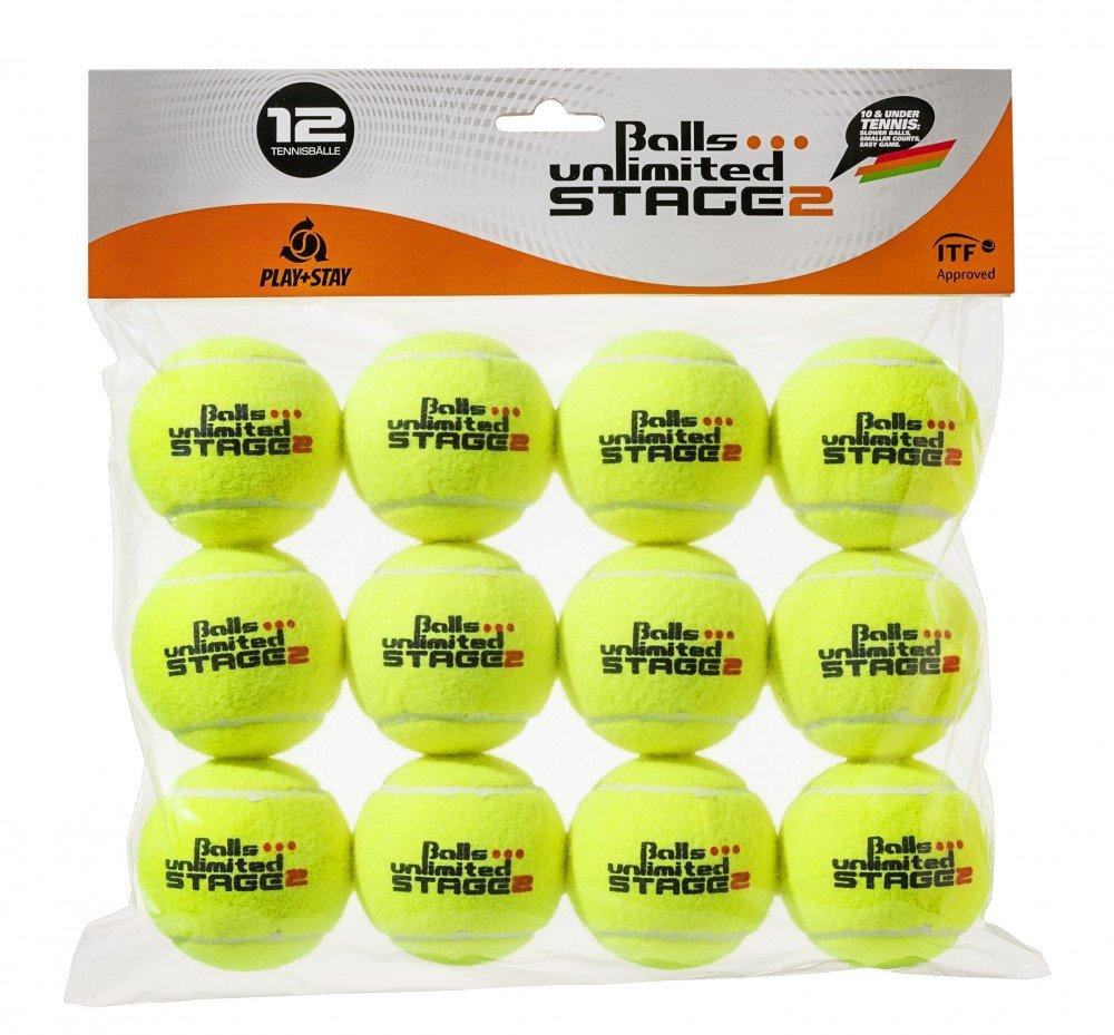 Babolat Stage 2 Orange 12 Bälle Methodik Tennisbälle Tennis Balls