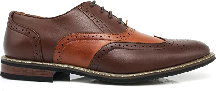 Details about  /Leather Shoes For Men/'s For Wedding and Party Functions Thread Work Brown Color