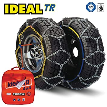 Ideal, cadenas de nieve TR 109para 4x 4, ajuste universal
