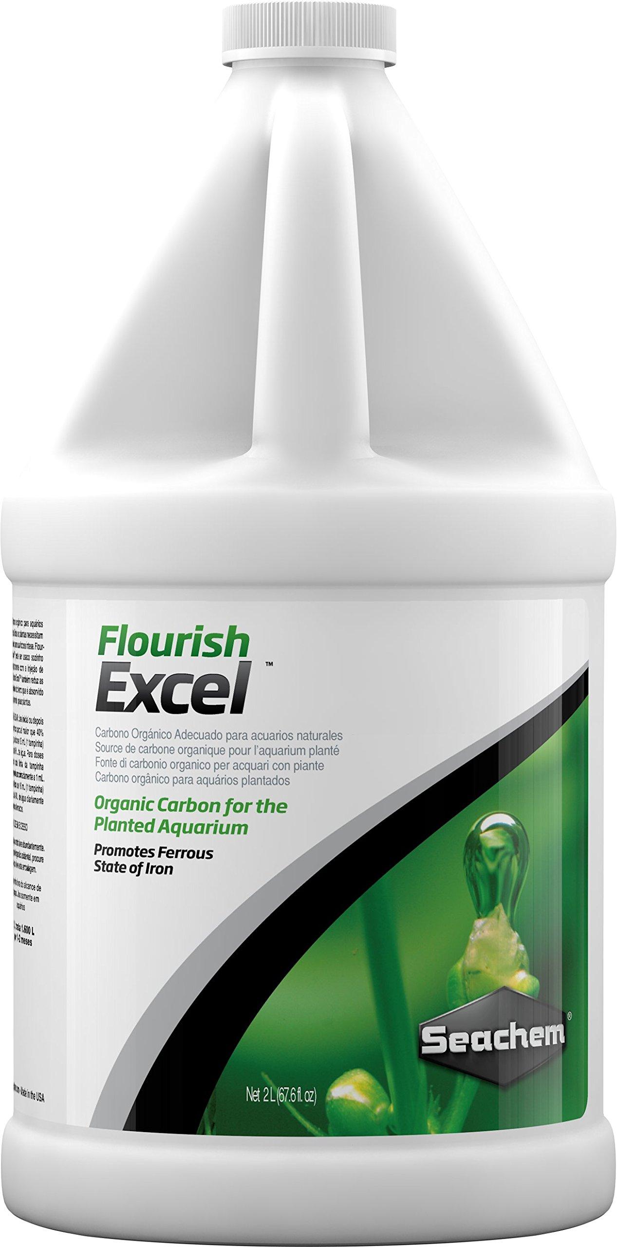 Flourish Excel 2 L / 67.6 fl. oz. for Marine & Saltwater Reef Aquariums!