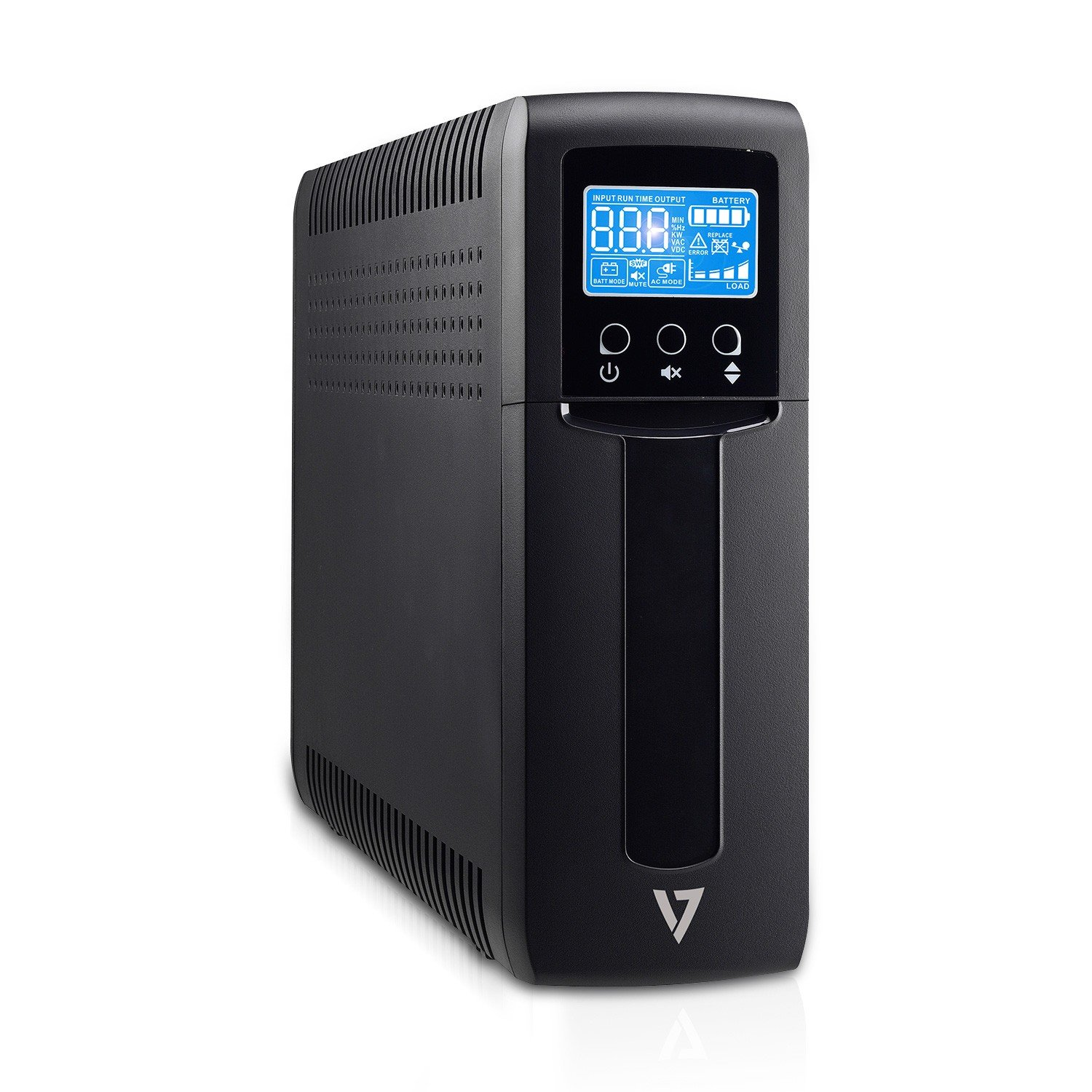 V7 Uninterruptible Power Supplies 1500VA UPS Tower LCD 5UPS (UPS1TW1500-1N)