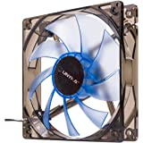UNYKAch 51791 Carcasa del Ordenador Ventilador - Ventilador de PC (Carcasa del Ordenador, Ventilador, 12 cm, 1200 RPM, 19 dB, Azul)