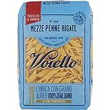 Voiello Pasta Mezze Penne Rigate Semola di Grano Aureo 100% Italiano, 500 gr