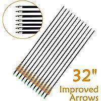 Emo Tree Fiberglass Arrows for Archery Target Practice with Metal Screw