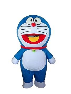 Sinoocean Doraemon - Disfraz de gato robot de Halloween para ...