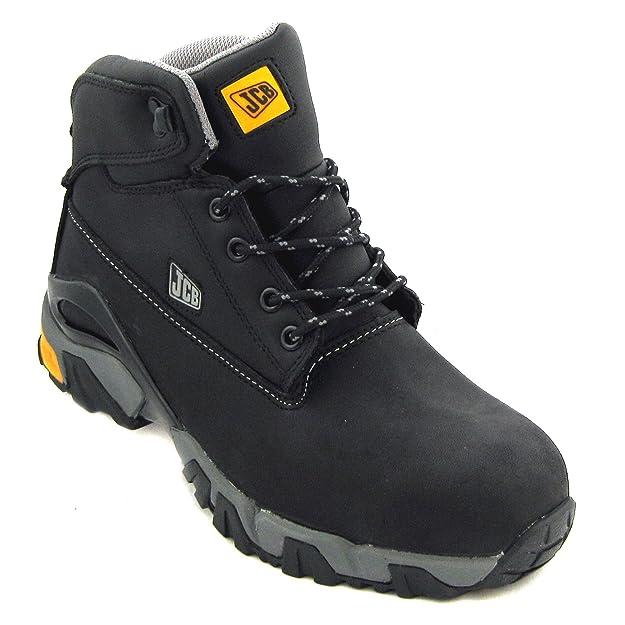 2869ea8e00d JCB 4x4/B Men's S3 Leather Safety Boots
