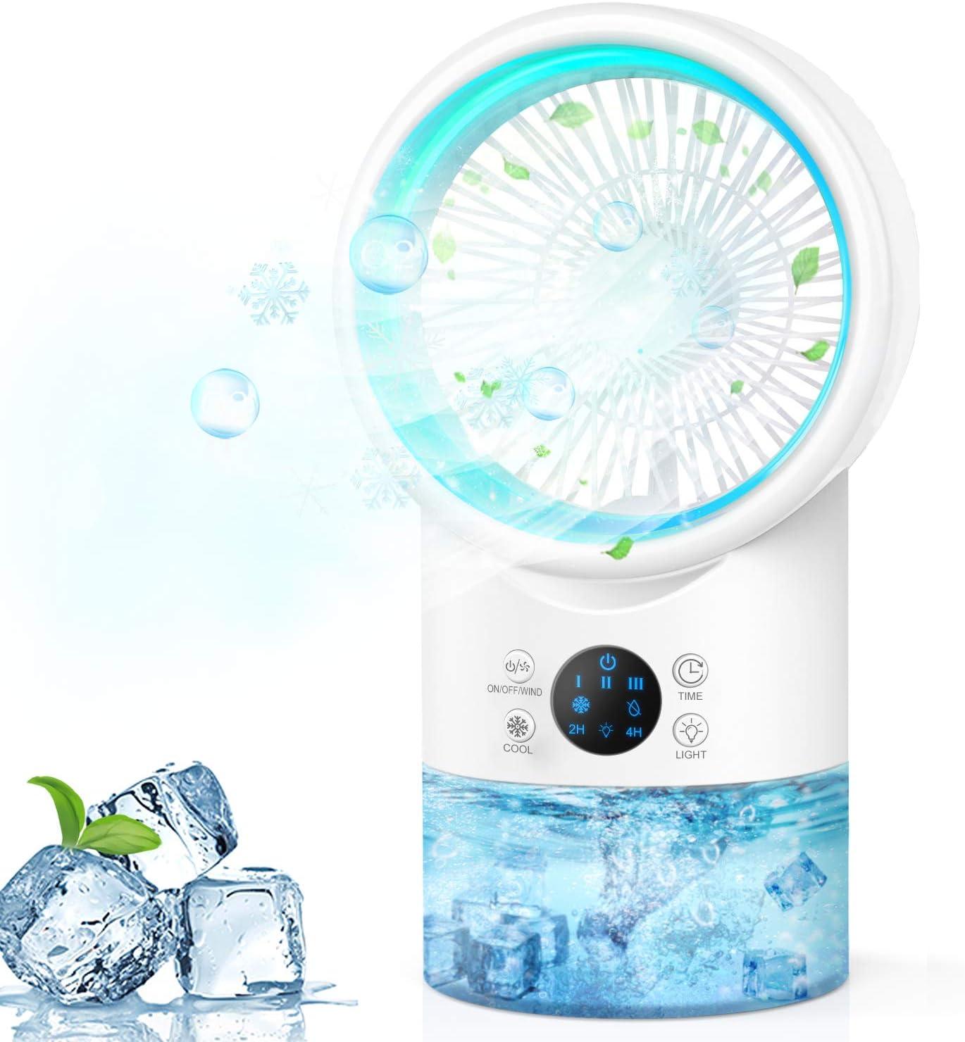 USB Evaporative Portable Air Conditioner Air Cooler Fan Mini Air Conditioner Topteng Air Conditioner Fan