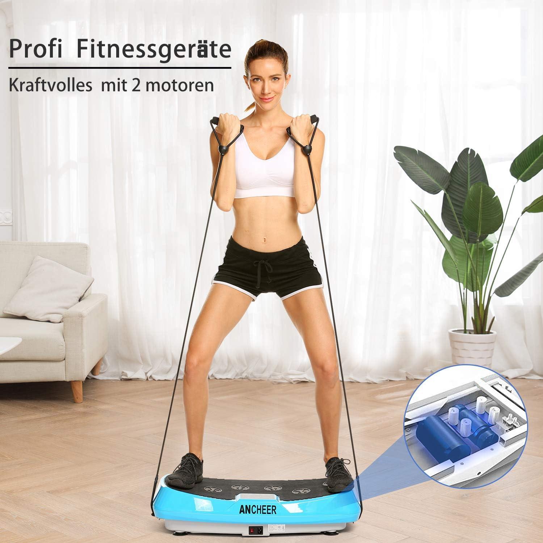 Profi 4D Fitness Vibrationsplatte Ganzkörper Training Vibrationsboard 2 E m 04