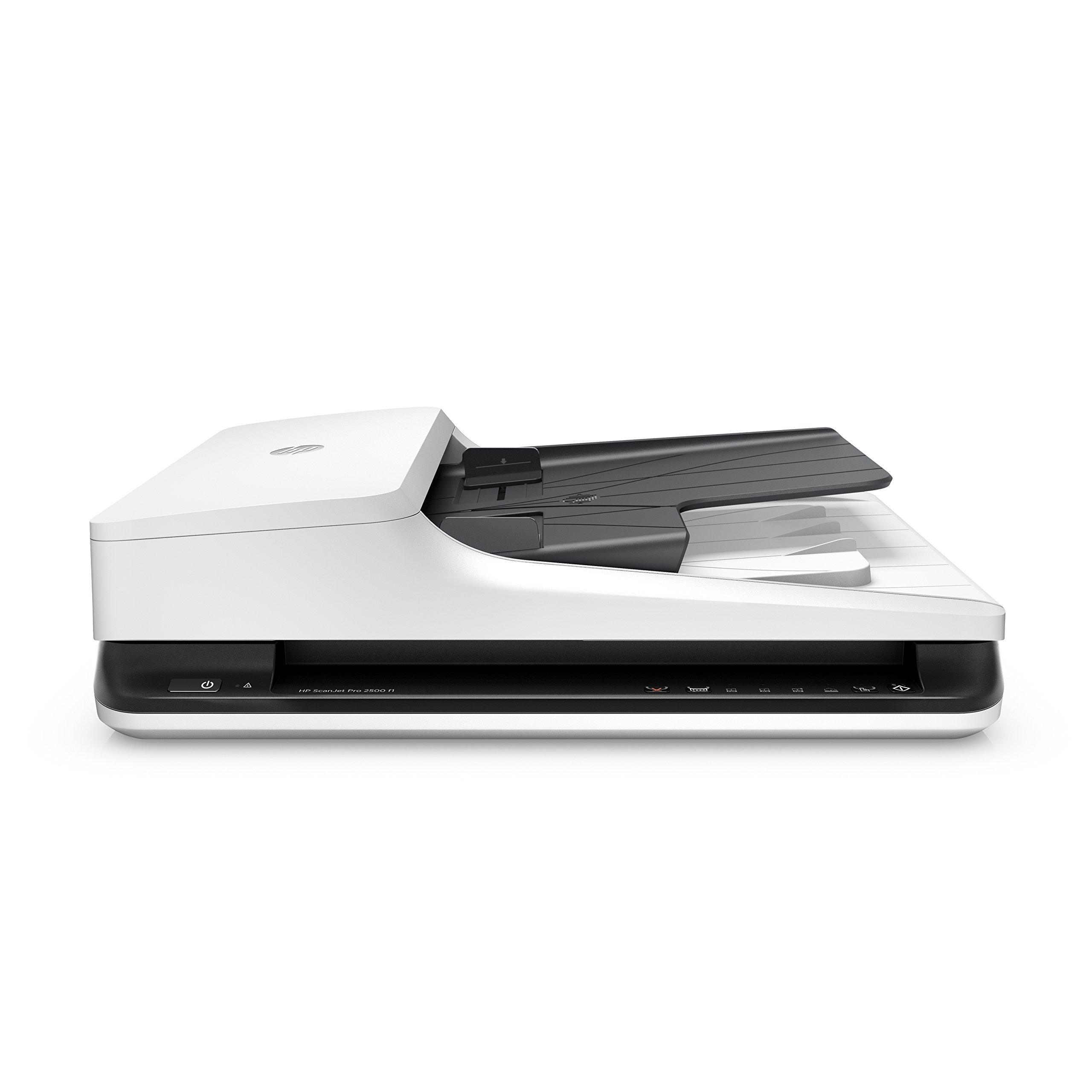 HP ScanJet Pro 2500 f1 Flatbed OCR Scanner (Renewed) by HP