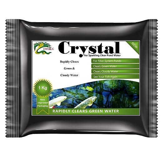 5 opinioni per Stagno verde acqua trattamento Hydra Crystal 1 Kg per acqua cristallina tratta