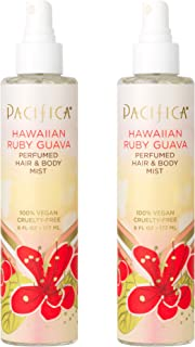 product image for Pacifica Perfumed Hair and Body Mist Hawaiian Ruby Guava, 6 Fl Oz,Pack of 2