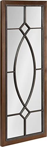 Kate and Laurel Bakersfield Farmhouse Wall Mirror