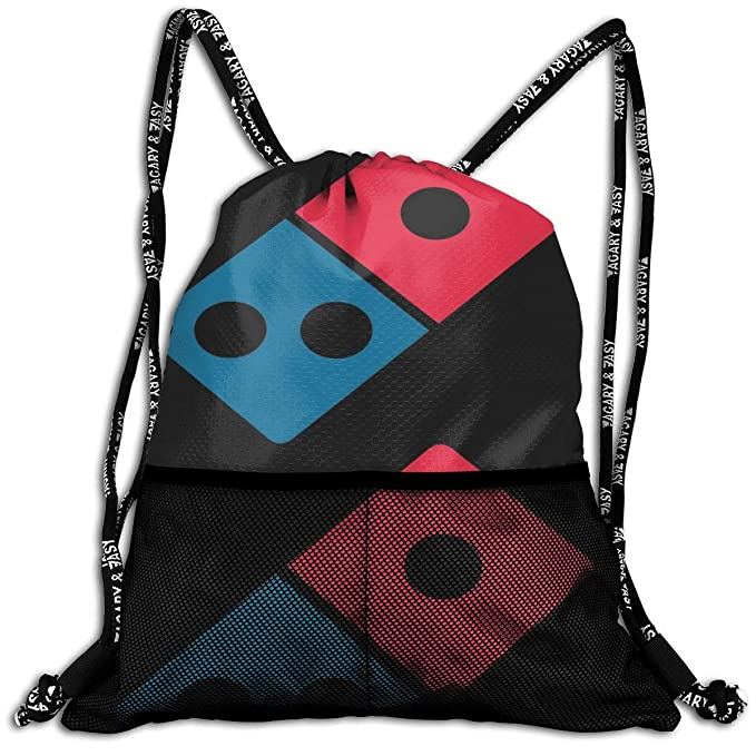 Amazon com: Laphihip Dominos Pizza Sports Drawstring