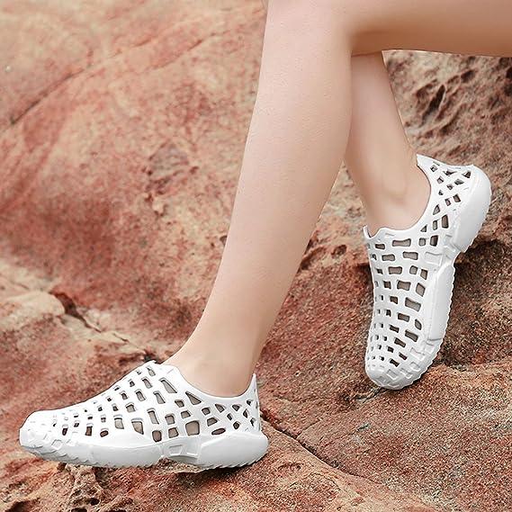 Yvelands Los Zapatos de los Hombres Unisex Ahuecan hacia Fuera Zapatos Casuales de los Flips-flopes de la Sandalia de la Playa: Amazon.es: Ropa y accesorios