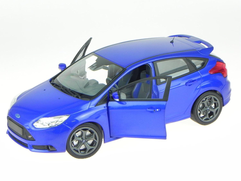 Ford Focus Focus Focus ST 2011 blau Modellauto 110082001 Minichamps 1:18 41f119