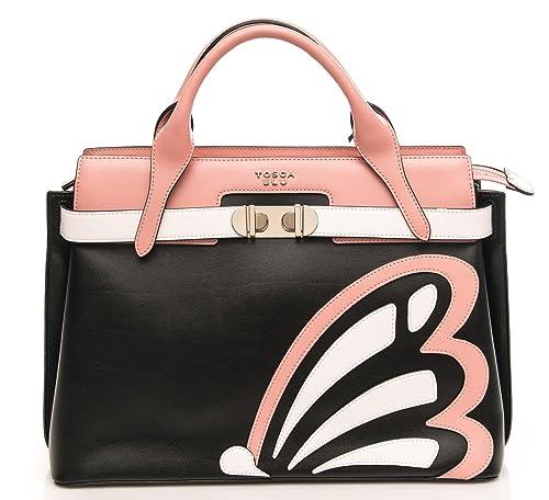 1fee72d536 Tosca Blu Borsa Donna Michelle Borsa Grande con Applicazione: Amazon.it:  Scarpe e borse