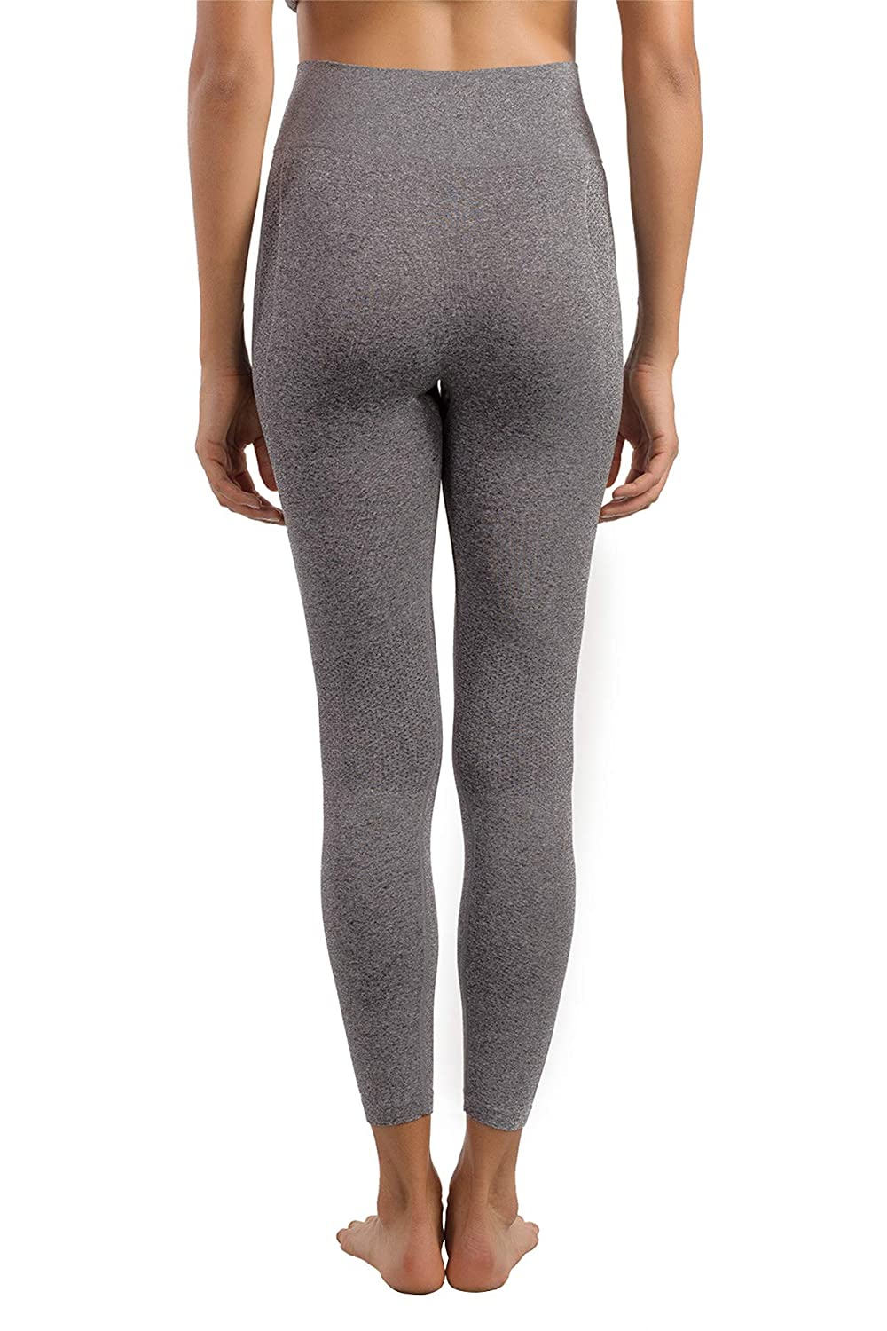 +MD Womens High Waisted Seamless Long Pants Thermal Underwear Bottoms Base Layer Leggings