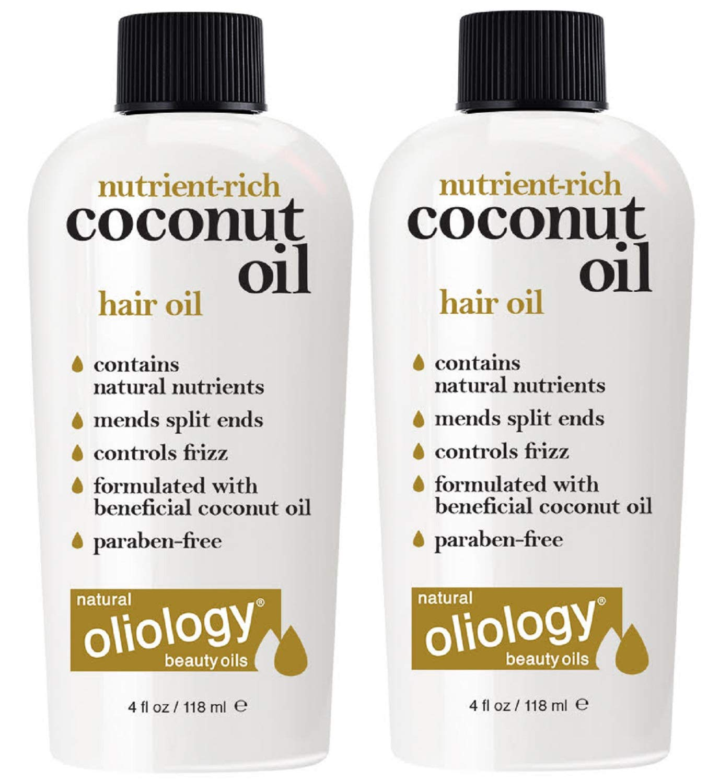 Oliology Coconut Hair Oil (2 Pack)