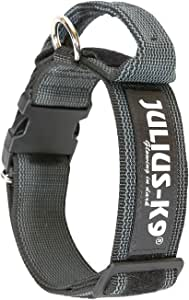 Julius-K9 - Collar para perro, Negro (Black/Gray), 40 mm*38-53 cm ...