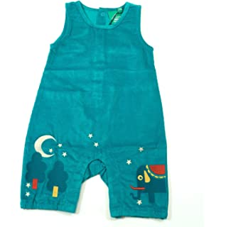 4262198f3557 Little Green Radicals Peacock Cord Dungarees - 6-9 Months (74) Red ...