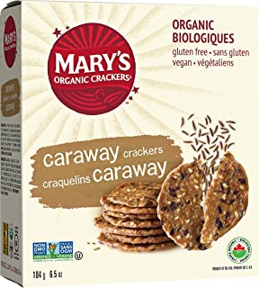 Marys Gone Crackers - Alcaravea orgánica de las galletas - 6,5 ...