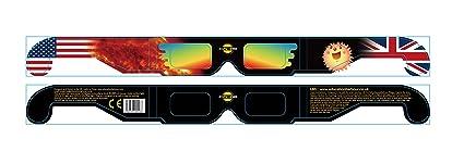 e03bbaafcc6 Solar Eclipse Glasses -Solstice Glasses x 5 pairs  Amazon.co.uk  DIY ...