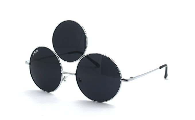 f0b02b0e3c Amazon.com  BLACK THIRD EYE SUNGLASSES by Shivas  Clothing