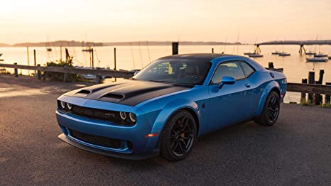 Dodge Challenger Srt Hellcat >> Amazon Com Dodge Challenger Srt Hellcat Redeye Widebody Car