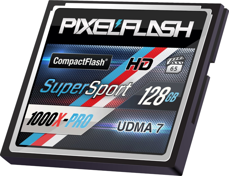 PixelFlash 128 GB 1106x Compact Flash Memory Card VPG-65 by PixelFlash (Image #3)