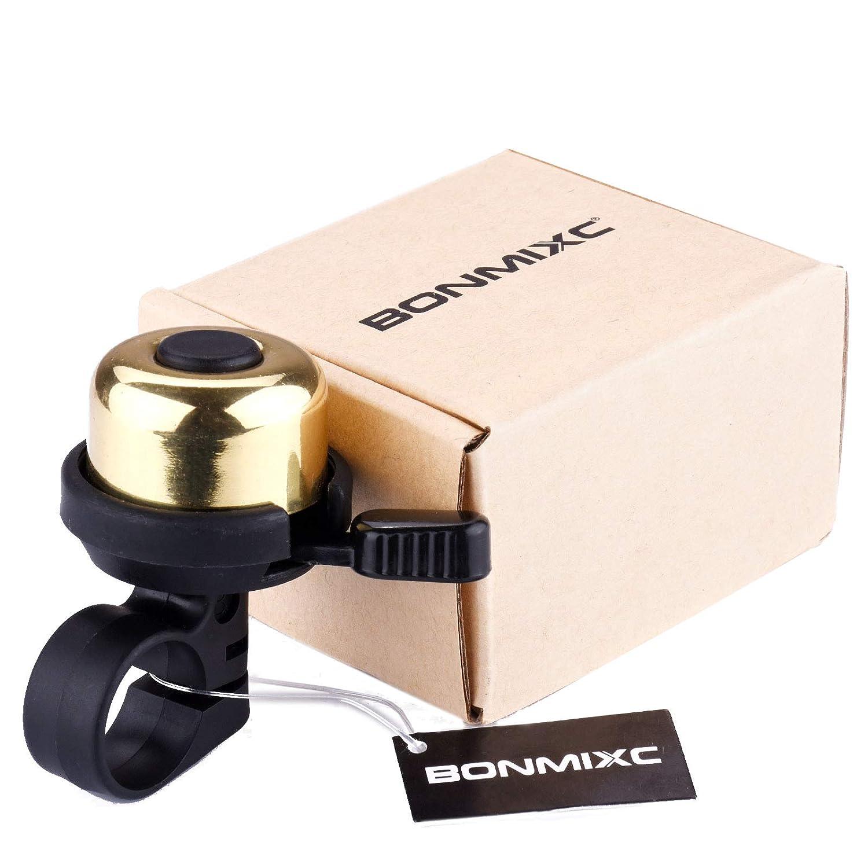 Amazon.com: BONMIXC - Timbre para bicicleta (latón): Sports ...