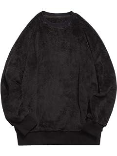 4fd35c694 HANGJIA Streetwear Hip-hop Oversized Half Zipper Pullover Fleece ...