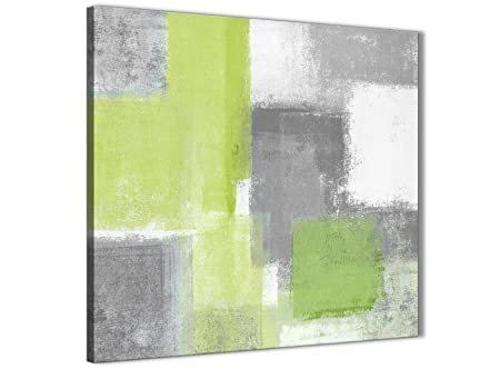 wallfillers lime green grey kitchen canvas wall art accessories
