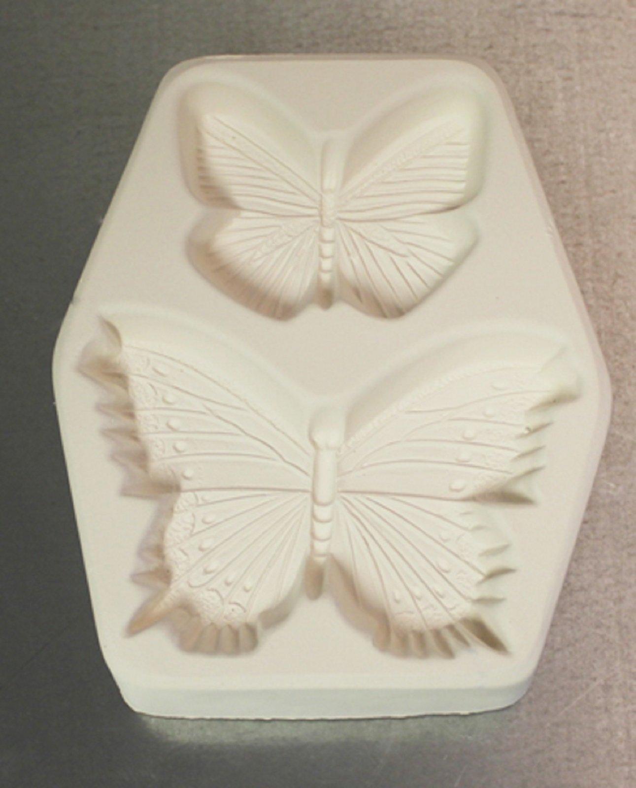 Lf114 2 Butterfly's Mold for Glass Kiln Firing Frit